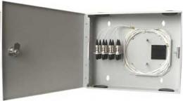 Коробка распределительная КР-08, односекционная, 8 портов