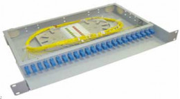 Оптический кросс (Fiber Cross) Панель распределительная ПР24